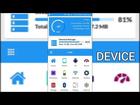 My device info android app promo