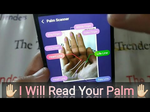 App Review Of Palm Truth Palm Reading Scanner