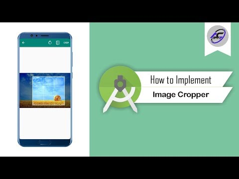 How to Implement Image Cropper in Android Studio   ImageCropper   Android Coding