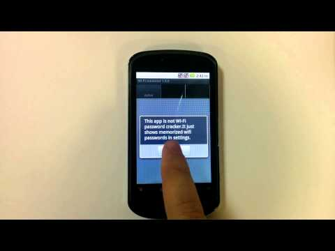 video review of Wi-Fi password manager