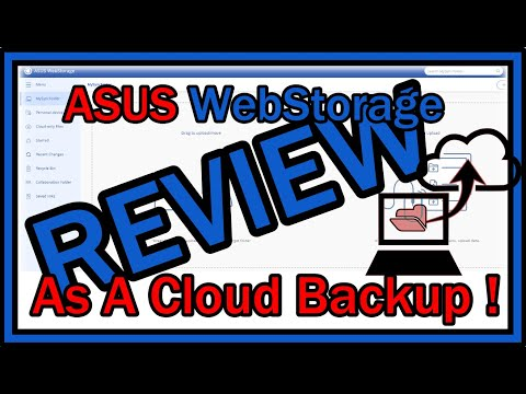 Using Asus WebStorage as 1 TB CLOUD BACKUP !  My Review after 1 Week. Is it Good Or SCAM?