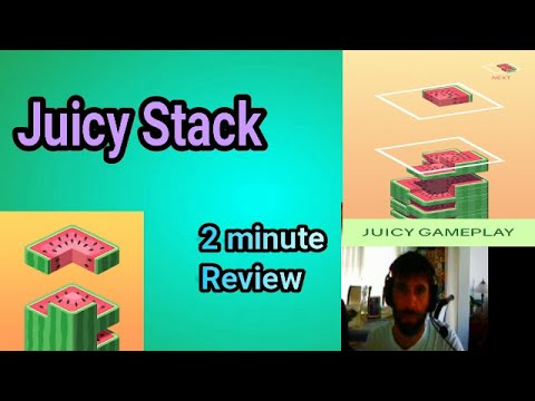 Juicy Stack android and apple mobile game FIRST LOOK!