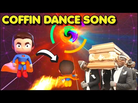 Coffin Dance Song (Astronomia) played on Smash Colors 3D | Gameplay #1 (Android & iOS Game)