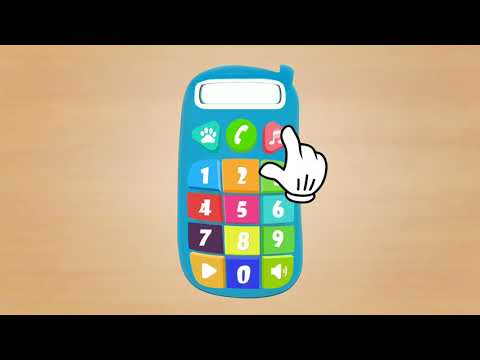 video review of Baby Phone for Kids. Learning Numbers for Toddlers