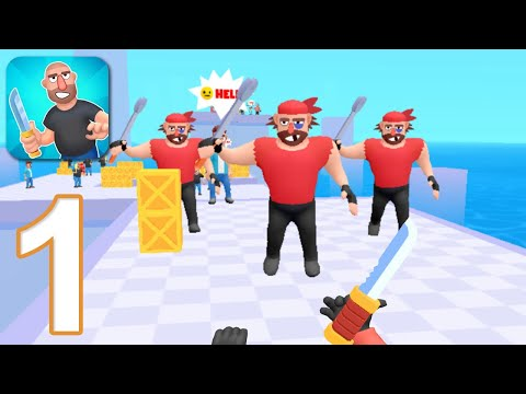 HIT MASTER 3D: KNIFE ASSASSIN - Walkthrough Gameplay Part 1 - INTRO (iOS Android)