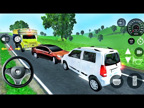 Indian Cars Simulator 3D - Suzuki Real Car Driving - Android GamePlay