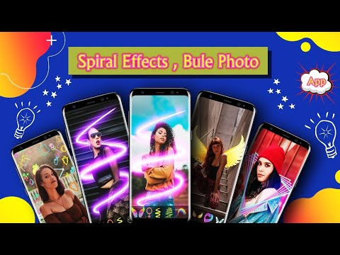 FotoApp Photo Editor: Spiral Effects, Blur Photo Android 2020