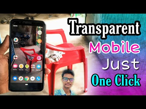 Transparent Screen Live Wallpaper || Make Your Android Mobile Fully Transparent Screen 🔥📳🔥
