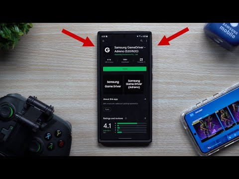 Samsung GameDriver Adreno - Improve & Update Your Graphics Experience