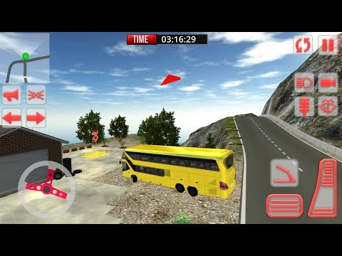 Mountain Bus Simulator 3D (by Mega Gamers Production) Android Gameplay [HD]