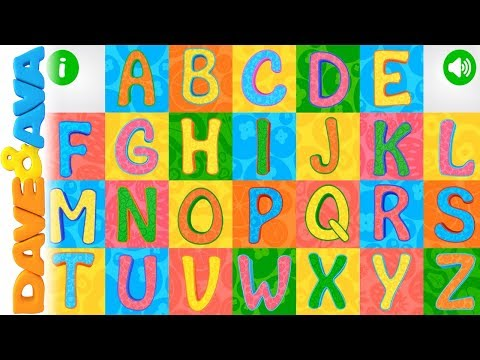 video review of ABC - Phonics and Tracing from Dave and Ava