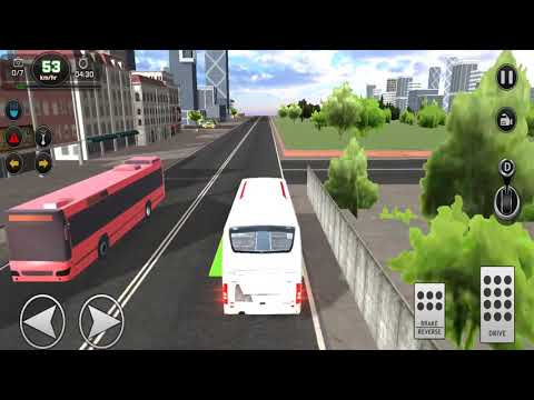 Car Simulator Game - Modern City Bus Driving Simulator New Games 2020 - Android ios Gameplay