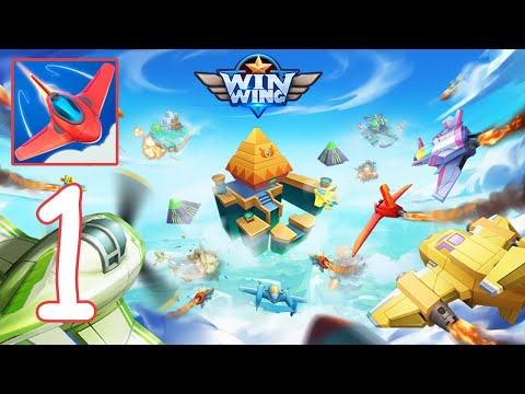 WinWing: Space Shooter Gameplay Walkthrough - Part 1 (Android,IOS)