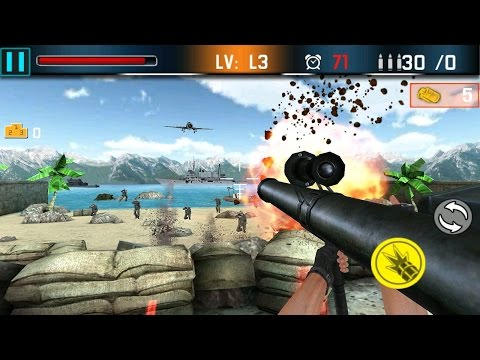 Shoot War Gun Fire Defense Android Gameplay (HD)