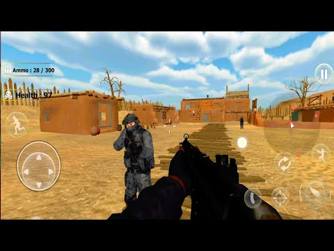 New Counter Terrorist - Gun Shooting Military Game - Android GamePlay HD. Fps Game. #1