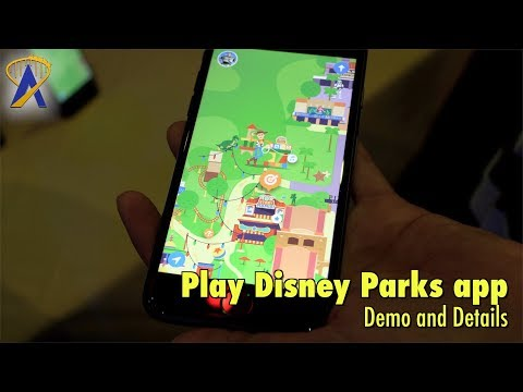 Play Disney Parks App - Game Demo and Details