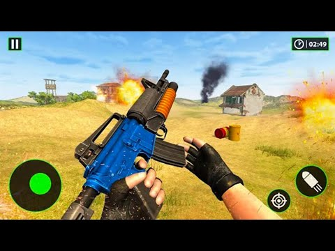 Critical Gun Strike - Android GamePlay - FPS Shooting Games Android