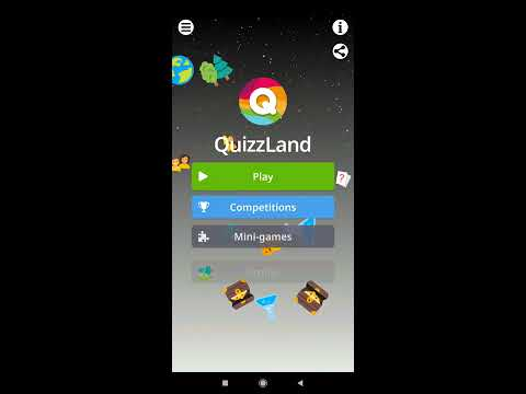 [Android] Free Trivia Game. Questions & Answers. QuizzLand. - mnoGoApps | Quiz & Trivia Games