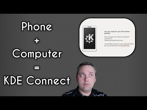 How to use KDE Connect to Connect your Phone to your PC