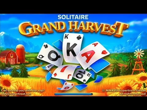 Solitaire - GRAND HARVEST - Tripeaks - free app download for Android/iOS by Supertreat