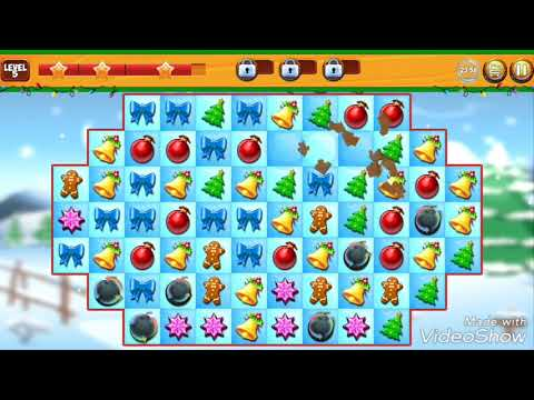 Christmas Crush Holiday Swapper Candy Match 3 Game (Android gameplay)