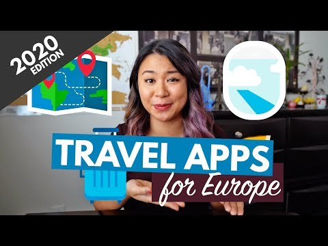 20 TRAVEL APPS YOU MUST DOWNLOAD (FOR EUROPE) 2021 | Free Genius Travel Apps for iPhone & Android!