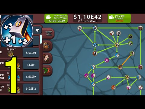 Crafting Idle Clicker - Gameplay Walkthrough Part 1 (iOS, Android)