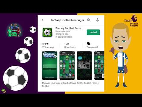 FPL   Fantasy Football Manager App Installation For FPL Players
