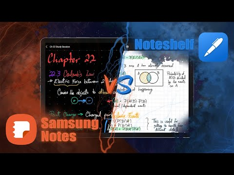 Which is the Best Android Note Taking app? | Samsung Notes vs Noteshelf (2020)