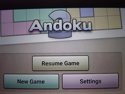 Andoku: If you love playing Sudoku, you'll love this too! Learn how to play this puzzle mobile game.