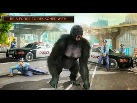 Short Movie Monster Gorilla Rampage Apes Family Simulator All Level Completion 