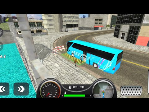 City Coach Bus Simulator 2021- Android gameplay
