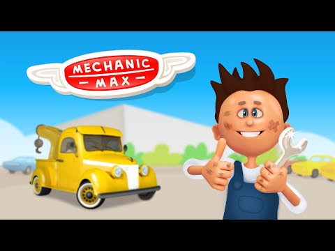 video review of Mechanic Max - Kids Game