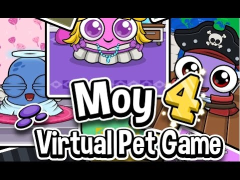 Moy 4: Virtual Pet Game - Android Gameplay HD