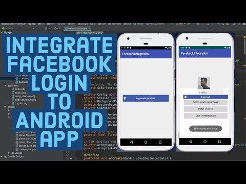 How to Integrate Facebook Login In Your Android App using Android Studio
