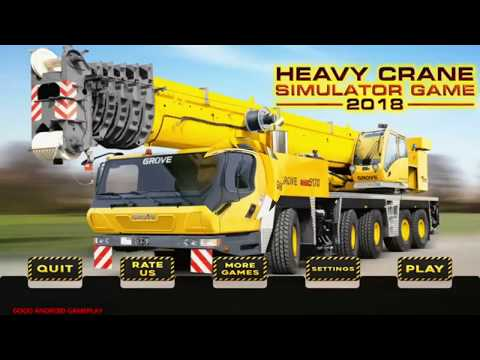 video review of Heavy Crane Simulator Game 2019