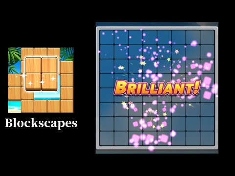 Blockscapes Gameplay || iOS/Android