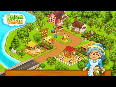 Farm Town: Happy farming Day & with farm game City Android Gameplay