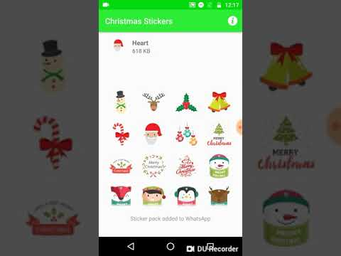 Christmas Stickers for WhatsApp