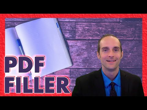 PDF Filler Tutorial! Skip Printing and Signing Documents!