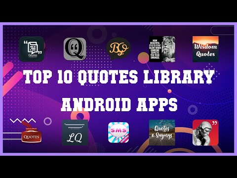 Top 10 Quotes Library Android App | Review