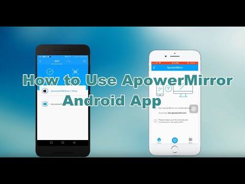 How to Use ApowerMirror Android App