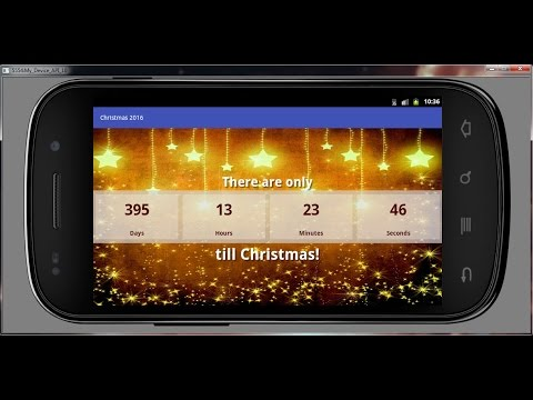Best Christmas Countdown 2016 Android app