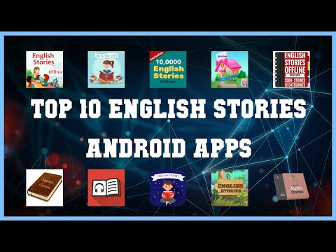 Top 10 English stories Android App | Review