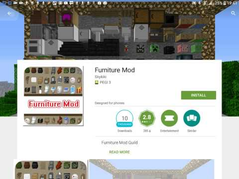 Furniture mod~ how to get the mod.
