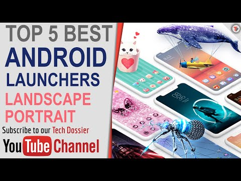 Android Top 5 Best Launchers | Tamil | Top Five Bests | Tech Dossier