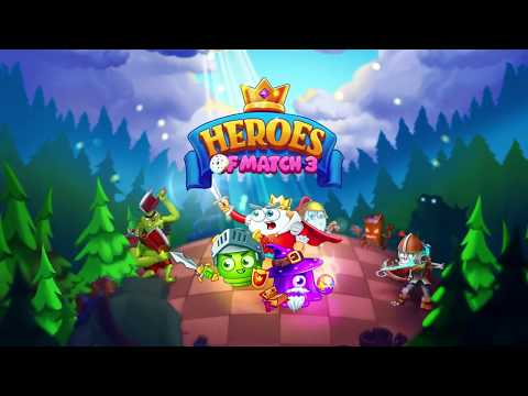 video review of 🧨Heroes of Match 3