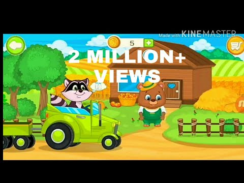 kids farm game|Gameplay|android game