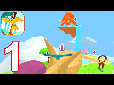 Little Bird Journey: Calm Flying Trip - Gameplay Part 1 World 1 (Android, iOS)