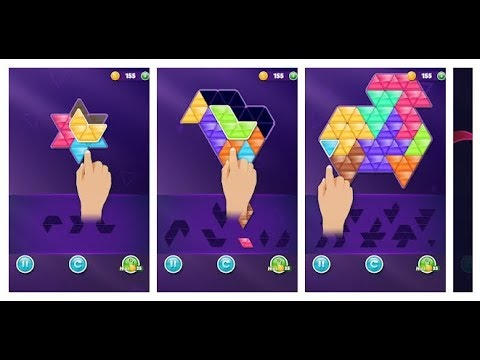 Block! Triangle puzzle: Tangram Android Gameplay